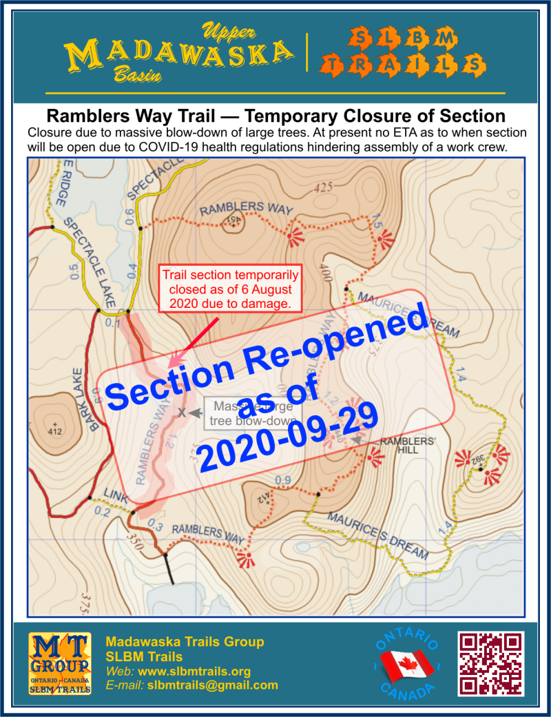 Ramblers Way section re-opened