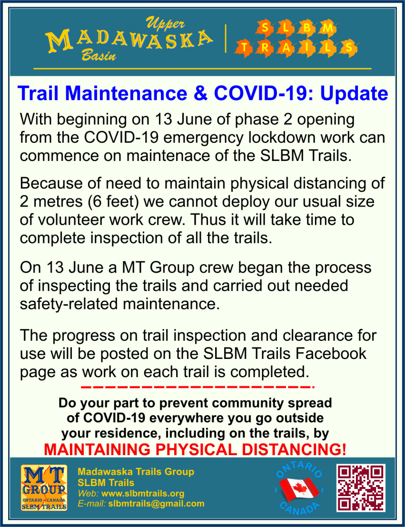 Tail Maintenance 2020 Notice