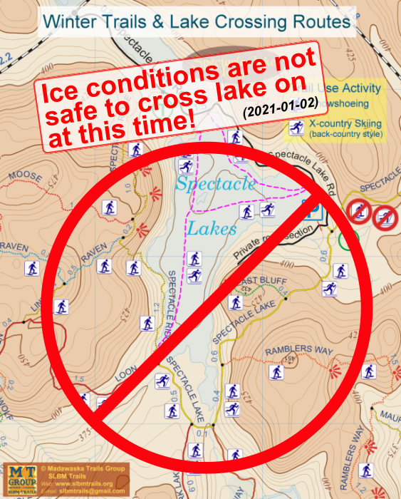 Lake Ice Condition Advisory
