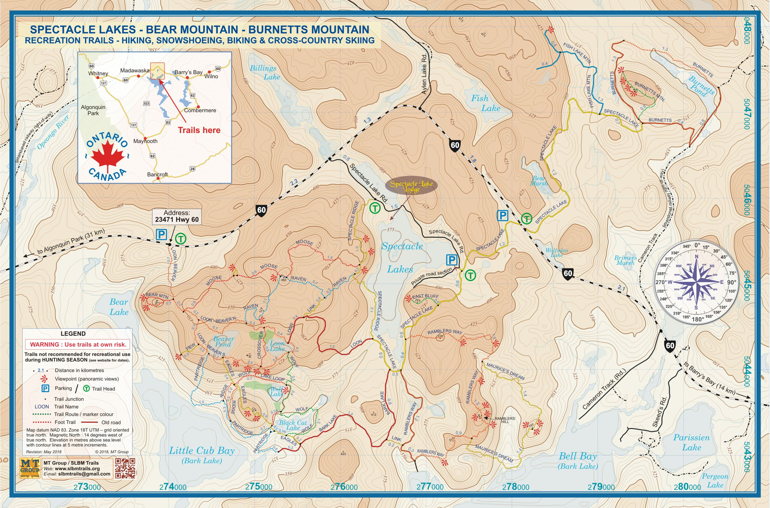 Site map spectacle lakes bear burnetts mtns recreation trails trail maps for download jpg high resolution png or print pdf tabloid size 2 page letter size gumiabroncs Choice Image